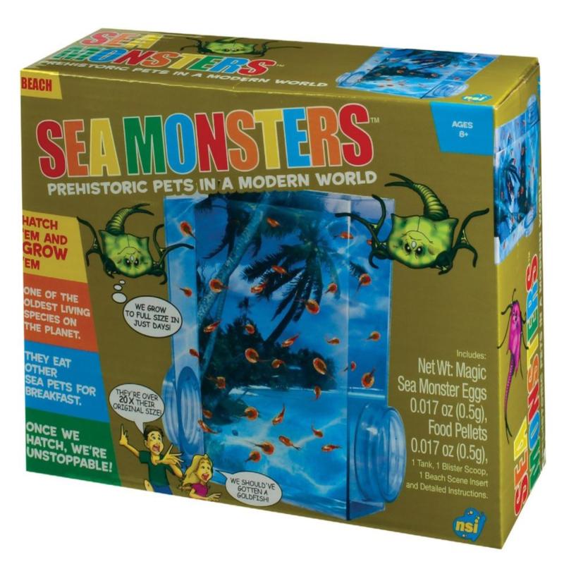 SEA MONSTERS,29536