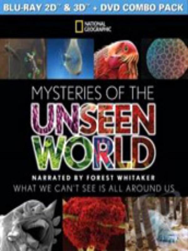 MYSTERIES OF UNSEEN WORLD BLU RAY/DVD COMBO