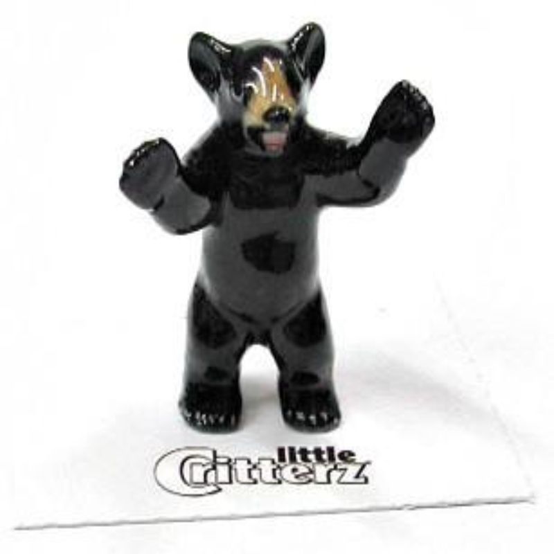 LITTLE JOHN BLACK BEAR CUB,LC101