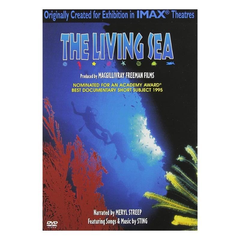 THE LIVING SEA DVD