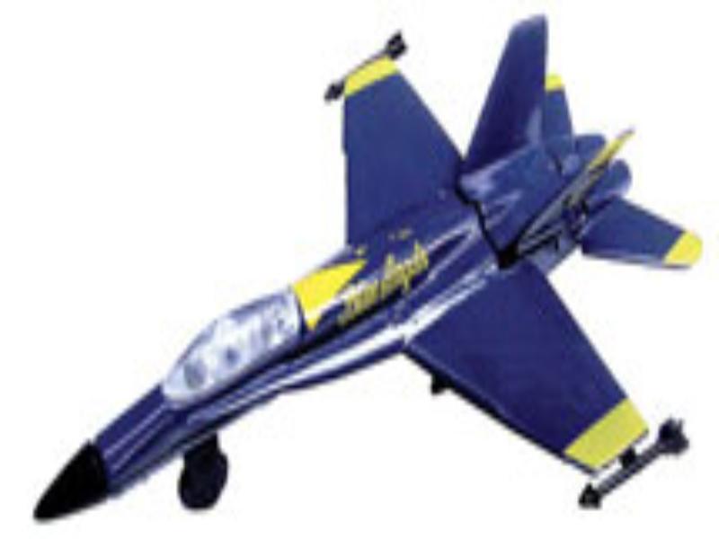 F-18 HORNET BLUE ANGELS,INSF18