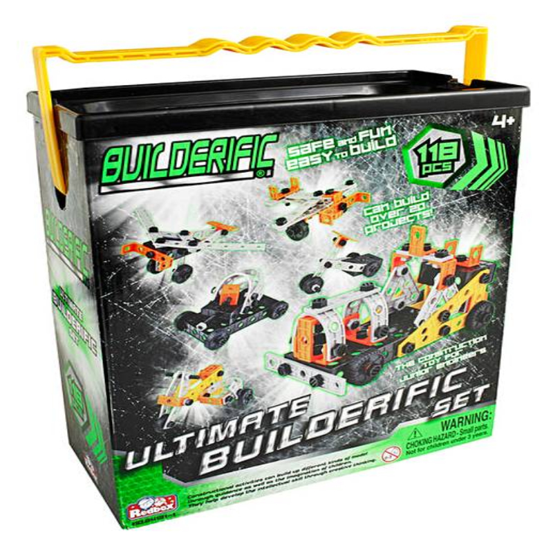118 PIECE BUILDERIFIC,MOBLD