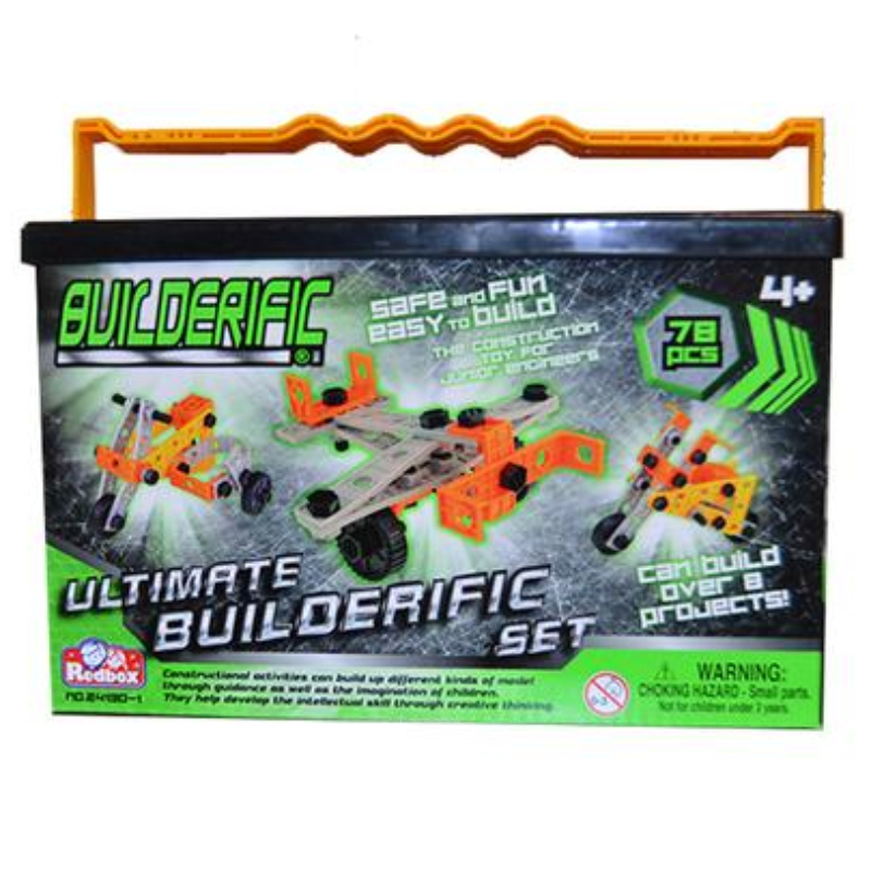 78 PIECE MINI BUILDERIFIC,MOBLDS
