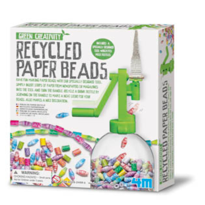 RECYCLED PAPER BEADS,4612