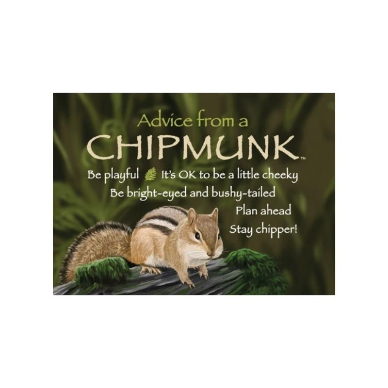 ADVICE CHIPMUNK MAGNET,MGADVCHIP6
