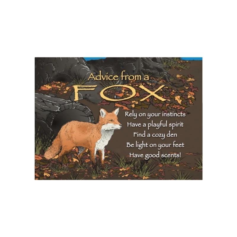 ADVICE FOX MAGNET,MGADVFOX6