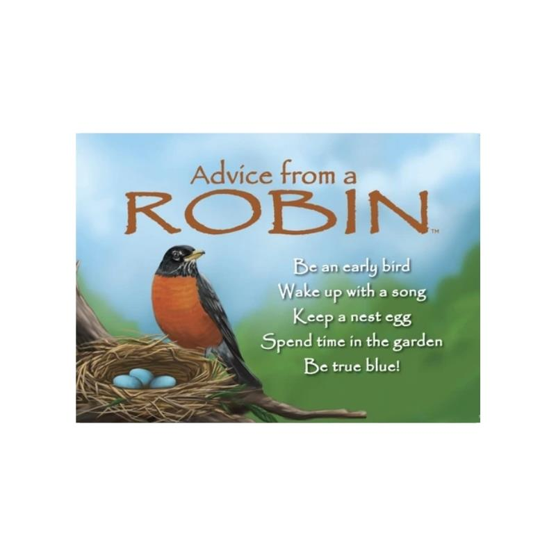 ADVICE ROBIN MAGNET,MGADVROBN6