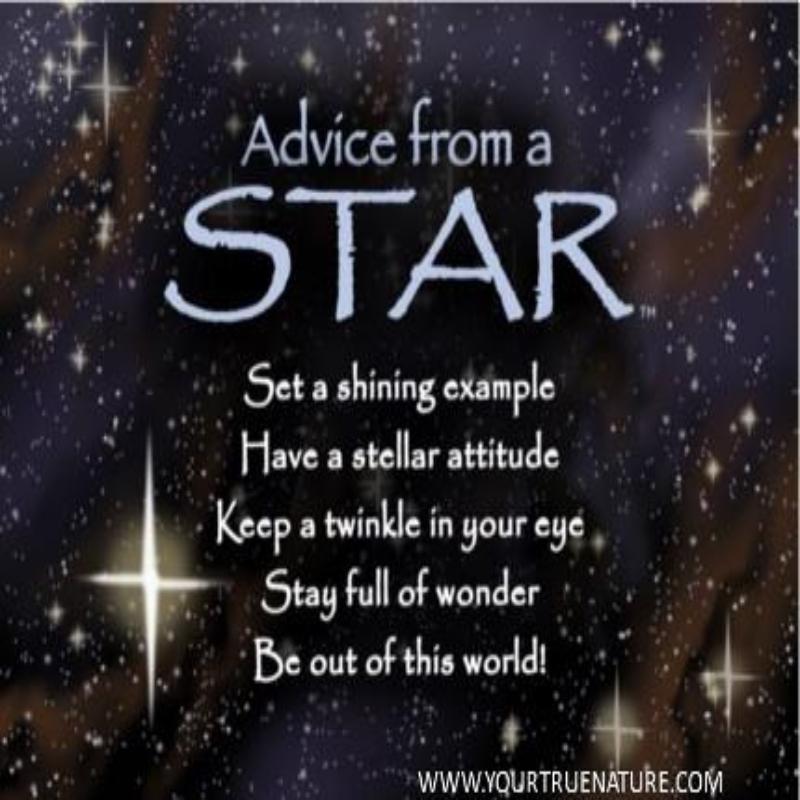 ADVICE STAR MAGNET,MGADVSTAR6