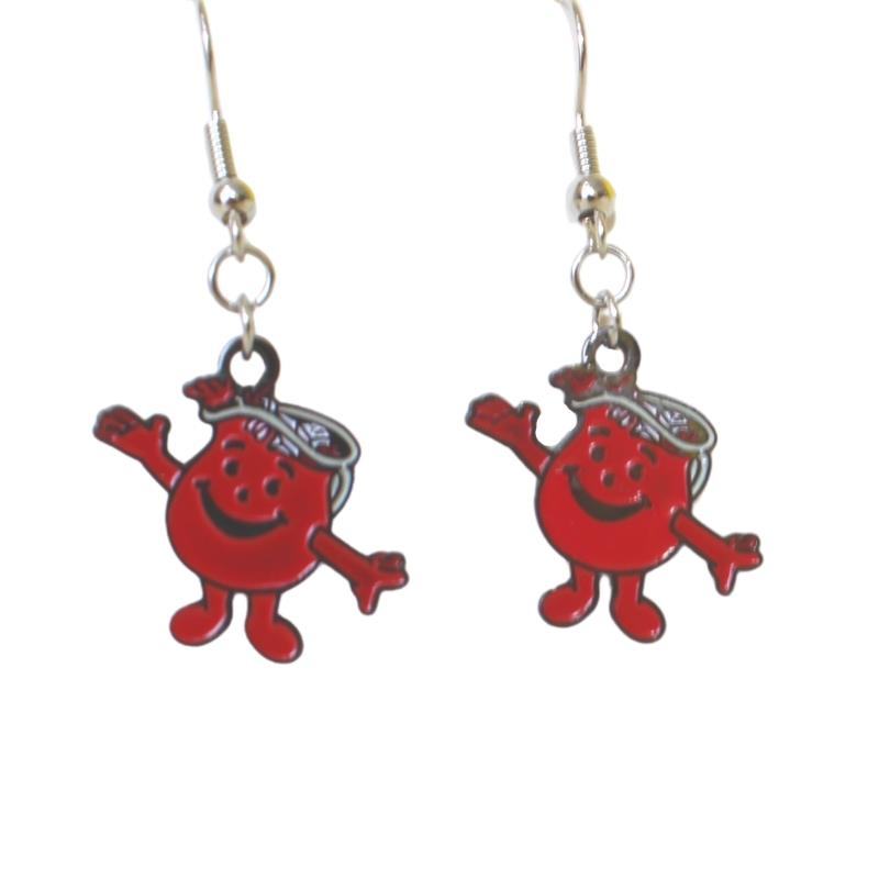 KOOL-AID DANGLE EARRINGS,KOOL-AID